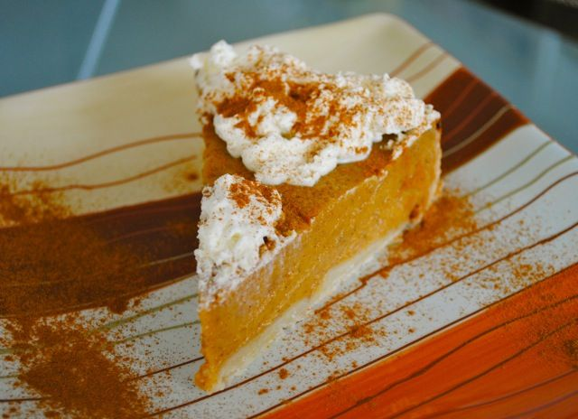 [Апдейт рецепта от 11.08.2011 г.]   Тыквенный пирог - совершенно культовый американский десерт. На праздничном столе в День благодарения...
