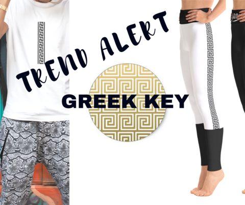 Trend Alert: Greek Key   Poetic Gangster Streetwear Clothing