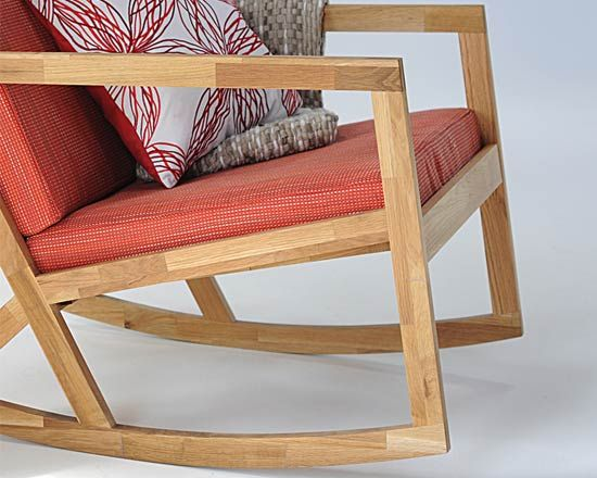 Tables, Desk & Chairs :: Oak Rocking Chair - Futon Company | Futons | Sofa Beds | Beds | Storage Furniture | Mattresses | Designer Furniture...