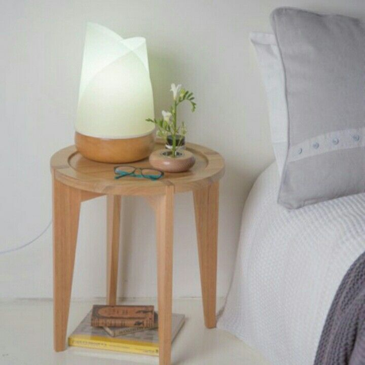 Bud lamp and seed flower vessel on Ruth side table available at the big design market in Melbourne and Sydney 2016