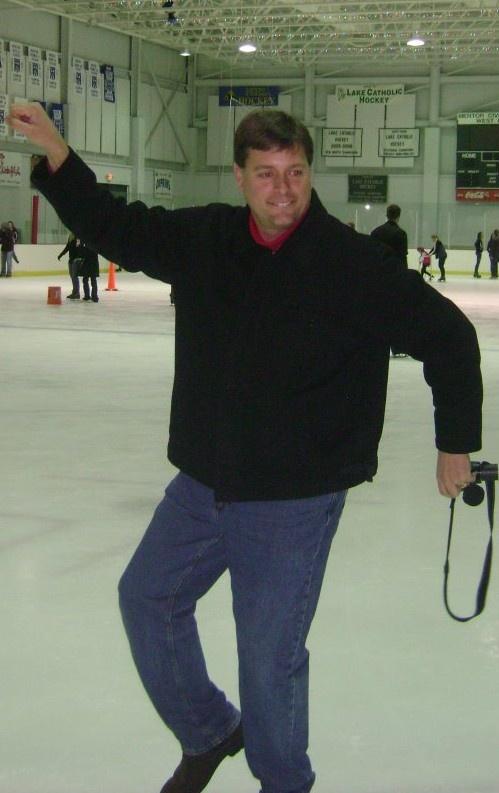 Pastor Tim and His Skating Pose !!! Priceless =)
