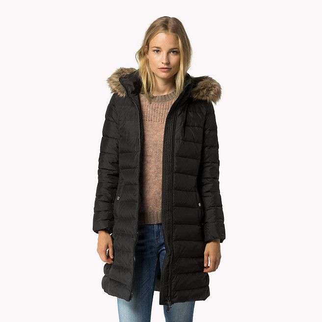 Tommy Hilfiger Tyra Down Coat Masters Black Black