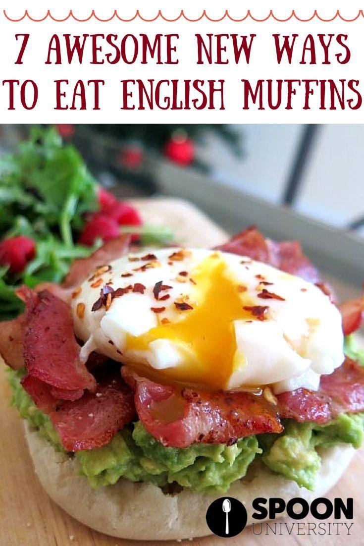 OMG those mini pizzas and egg Benedicts! #recipe #englishmuffin #breakfast #ideas #creative #eggbenedict