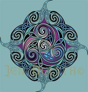 Celtic Symbol Trikele                                                                                                                                                      More