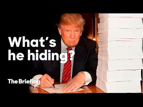 What is Donald Trump hiding in his tax returns? | The Briefing - YouTube