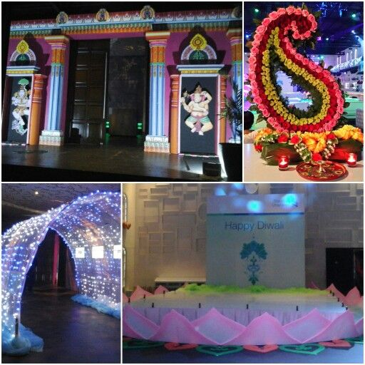 Standard Chartered Bank Diwali Party at Empirica Lounge, Jakarta. Decorated and organized by #wishmaster_eo #wishmasterpartyplanner