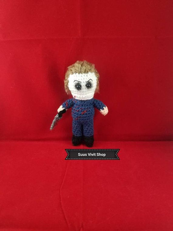 READY TO SHIP Cantinflas Inspired Amigurumi