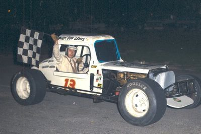 Don Lewis at Delaware Speedway