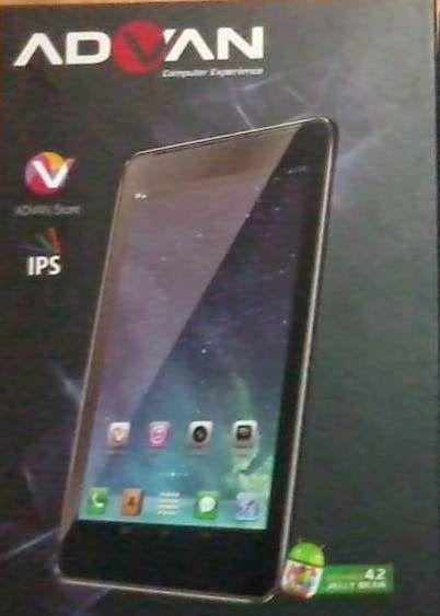 Tablet Advan Terbaru memiliki banyak variasi dan fitur baru. Harga dari tablet keluaran Advan terjangkau oleh siapa saja, sehingga setiap orang bisa memiliki tablet.