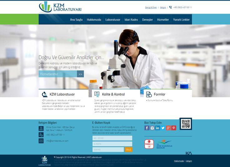 Kzm Laboratuvarı   Web Design