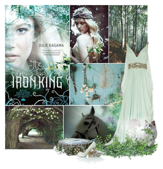 """Meghan Chase - The Iron Fey"" by lily15 ❤ liked on Polyvore featuring Trilogy, Marchesa, Mary Frances Accessories and Kendra Scott"
