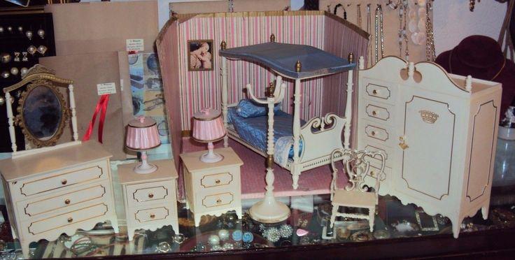 galletti cicogna camera da letto casa delle bambole