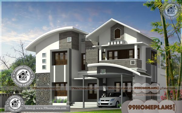 Modern Architecture House 90 Best 2 Storey House Plans Collections Kerala House Design Modern Architecture House Bungalow House Design