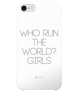 #GRLPWR Beyonce Who Run The World? Girls Quote Phone Case for iPhone & Samsung £16.99 #Girlboss #Quote #GirlPower #Motivation #Inspiration #Entrepreneur #Millenial #iphone #samsung #phonecase #Beyonce #Girls #Music #Lyrics