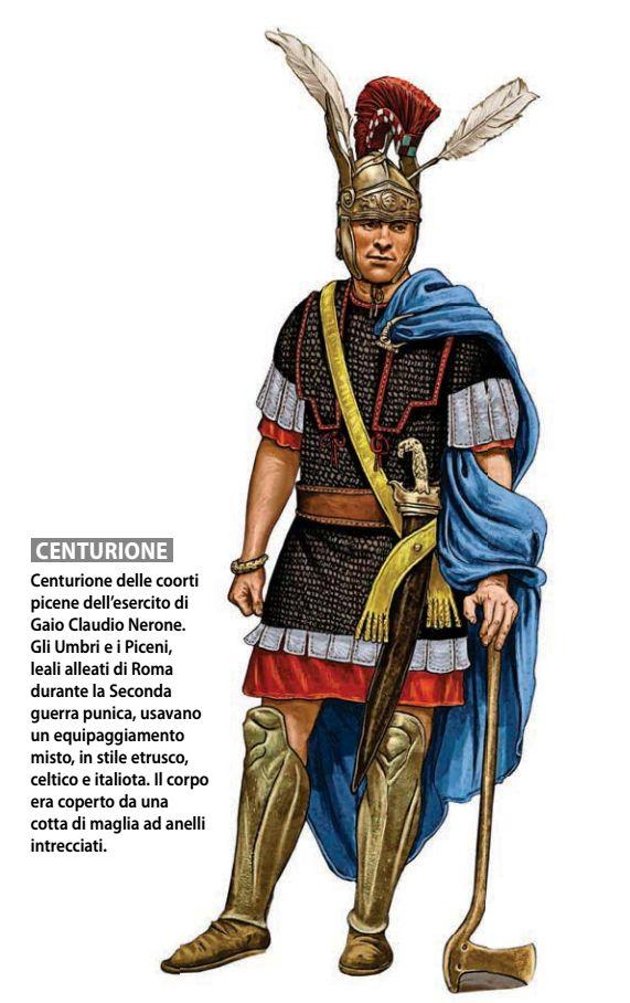 Журнал Focus Storia. Художник Giorgio Albertini. centurion
