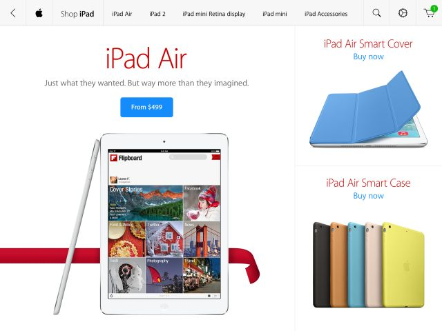 Apple launches the Apple Store app for iPad, allowing iPad owners to shop for their next Mac/accessory using their tablet. #mobile #apps #tablet #iPad