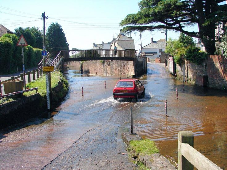 On the Sidford to Sidmouth walk we can never resist stopping at the ford!