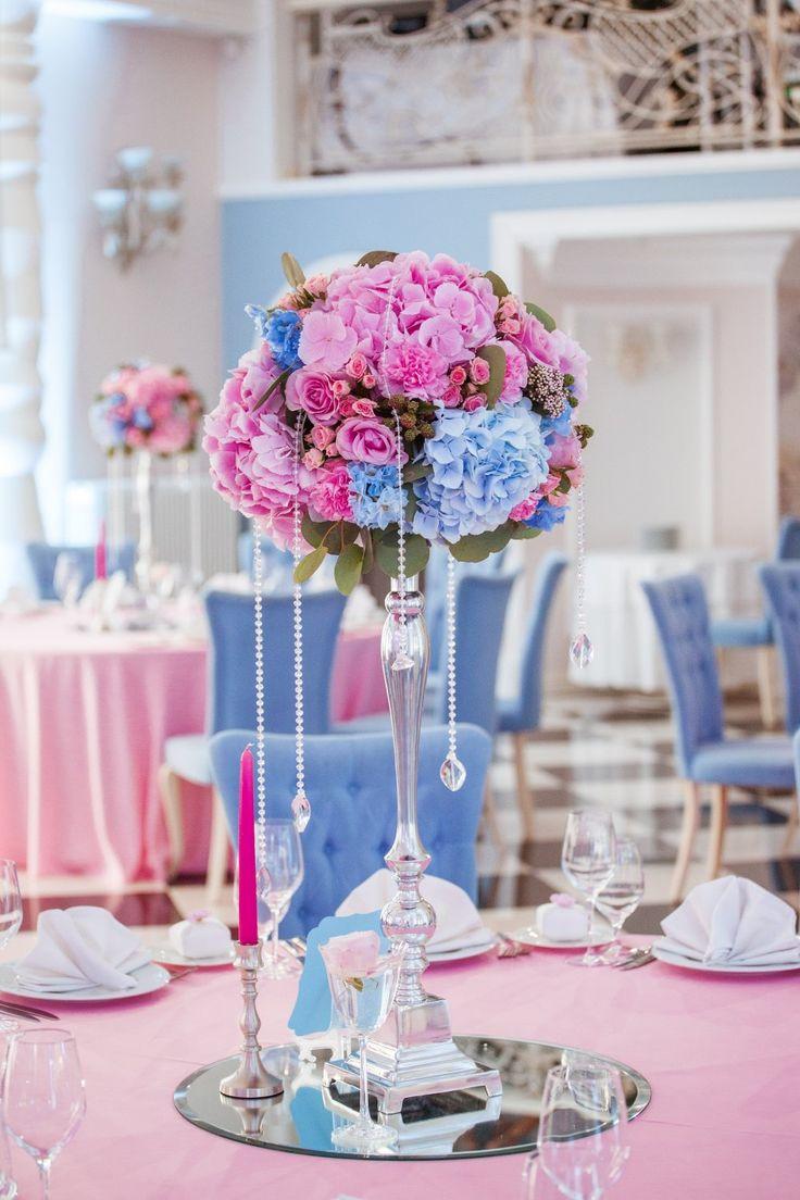 Цвет свадьбы - розовый кварц и серенити