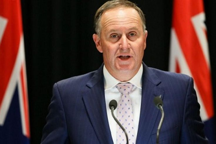 New Zealand Prime Minister John Key Resigns