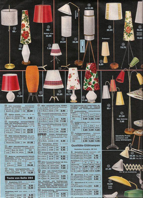 Retro Lighting 1960 S Home Decor Catalog Pages