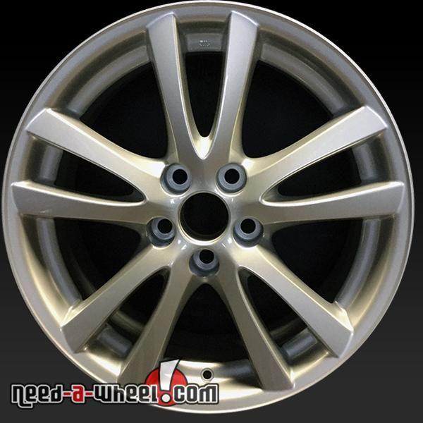 """2006-2008 Lexus IS350 oem wheels for sale. 18"""" Silver stock rims 74189 http://www.need-a-wheel.com/rim-shop/18-lexus-is350-oem-wheels-rims-silver-74189/ , #oemwheels, #factorywheels"""