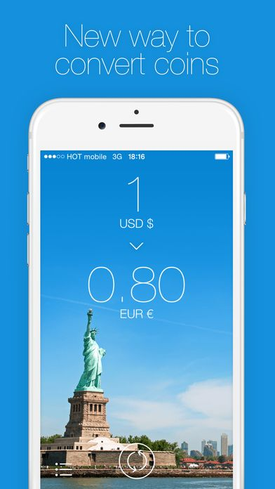 Change - Currency Converter | Foreign Exchange Rates on App Store:   Change is a beautifully well designed and simple app that helps you convert currencies easily. All you need to do is choose your currency and slide r...  Developer: Sigalit Amsalem  Download at http://ift.tt/1A9NwtR