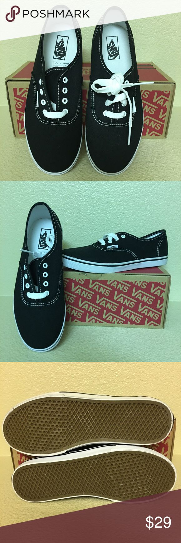 "Kids Authentic Lo Pro Vans 💕Price reduced for ""Dolla Days Sale,"" ends 12/12-Price is Firm, no offers will be accepted for this item during the sale. 💕 Brand new in box. Vans Shoes Sneakers"
