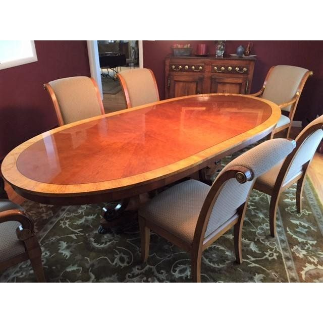Henredon Dining Table Oval With Images
