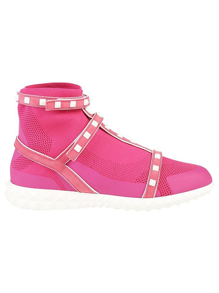 VALENTINO GARAVANI | Valentino Garavani Valentino Garavani High Top Sneakers #Shoes #Sneakers #VALENTINO GARAVANI