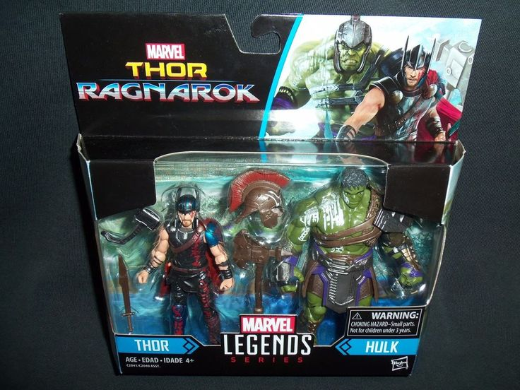 "Marvel Legends 3.75"" Thor Ragnarok and Gladiator Hulk Action Figure 2 Pack  #Hasbro"