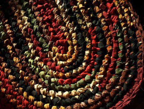 281 best crochet rug images on Pinterest | Crochet carpet, Rag rugs ...
