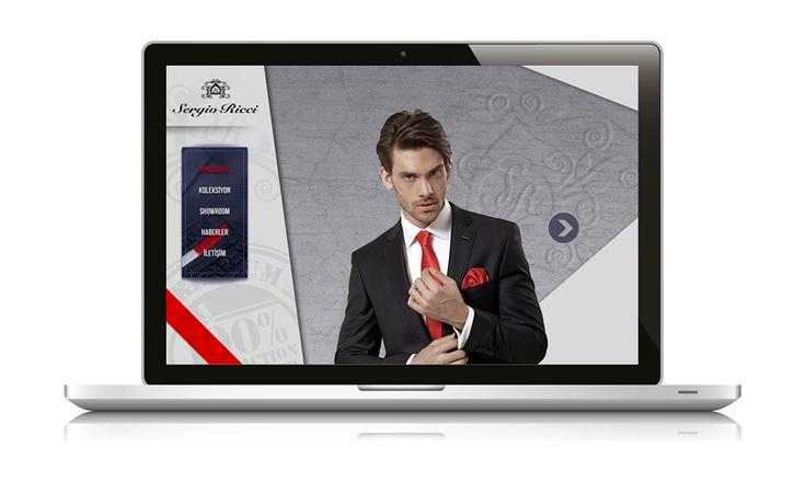 Ulaşhan Tekstil'in takım elbise markası Sergio Ricci web sitesi yayında www.ulashantekstil.com.tr
