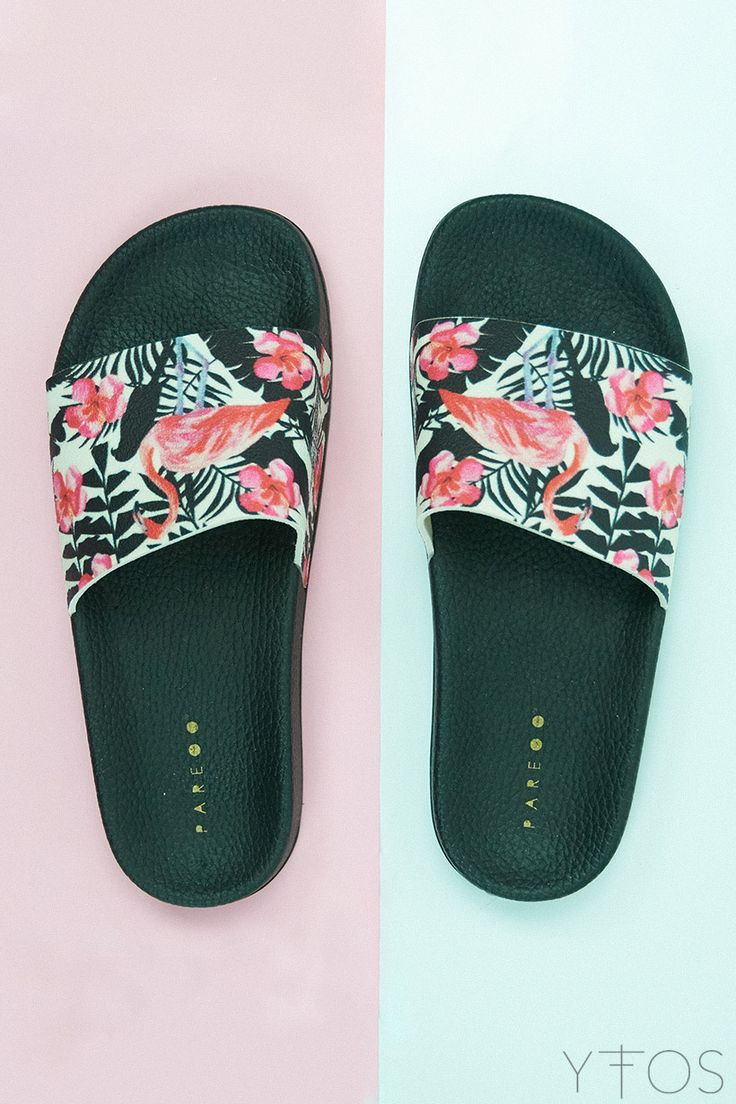 Yfos Online Shop | Shoes | Flamingo Slider Sandals by Pareoo