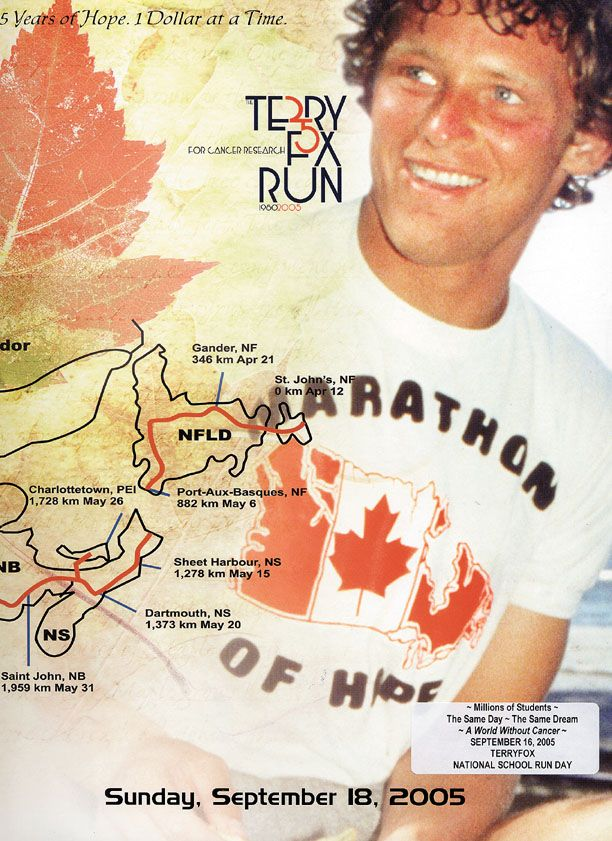 Terry Fox | Marathon of Hope | Great Canadian