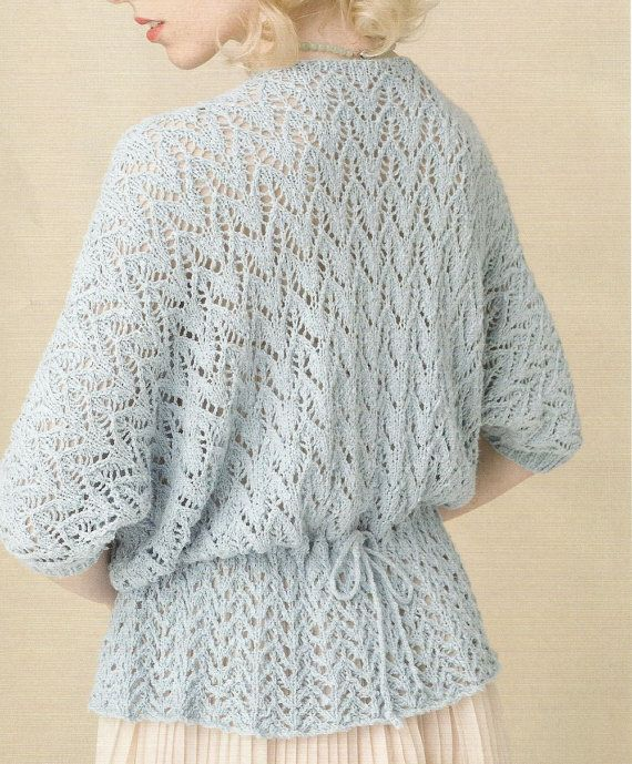 Knitting Pattern For Lace Sweater Sea Holly Knitting Me