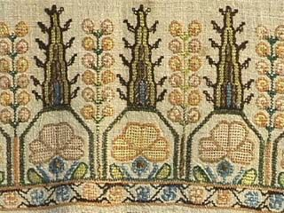 19th C. Embroidered Turkish Towel