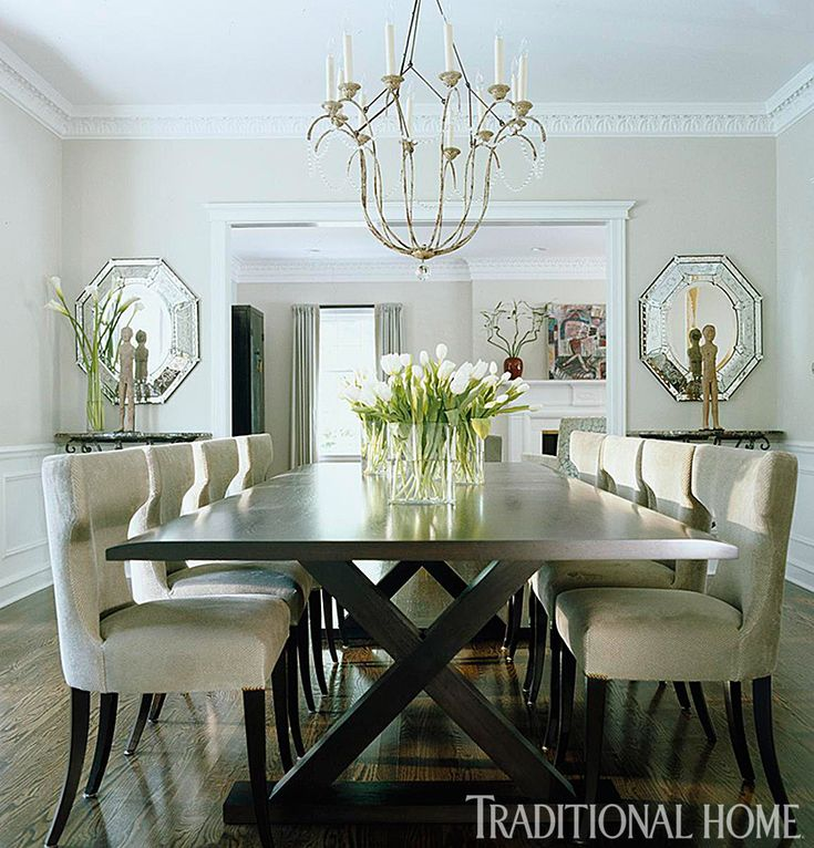 25 Years Of Beautiful Dining Rooms Traditional Home Spaces Dining P