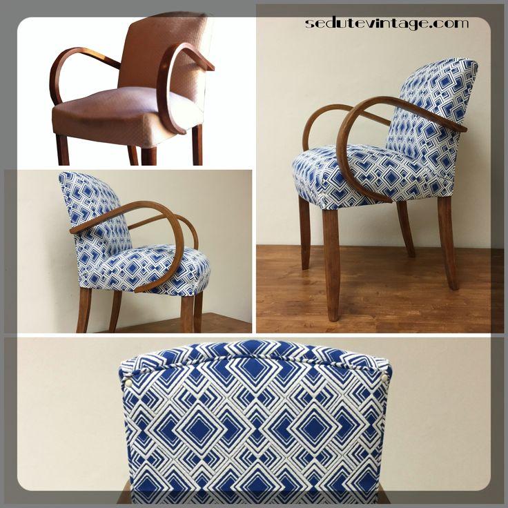 Restyling of an Art Decò chair