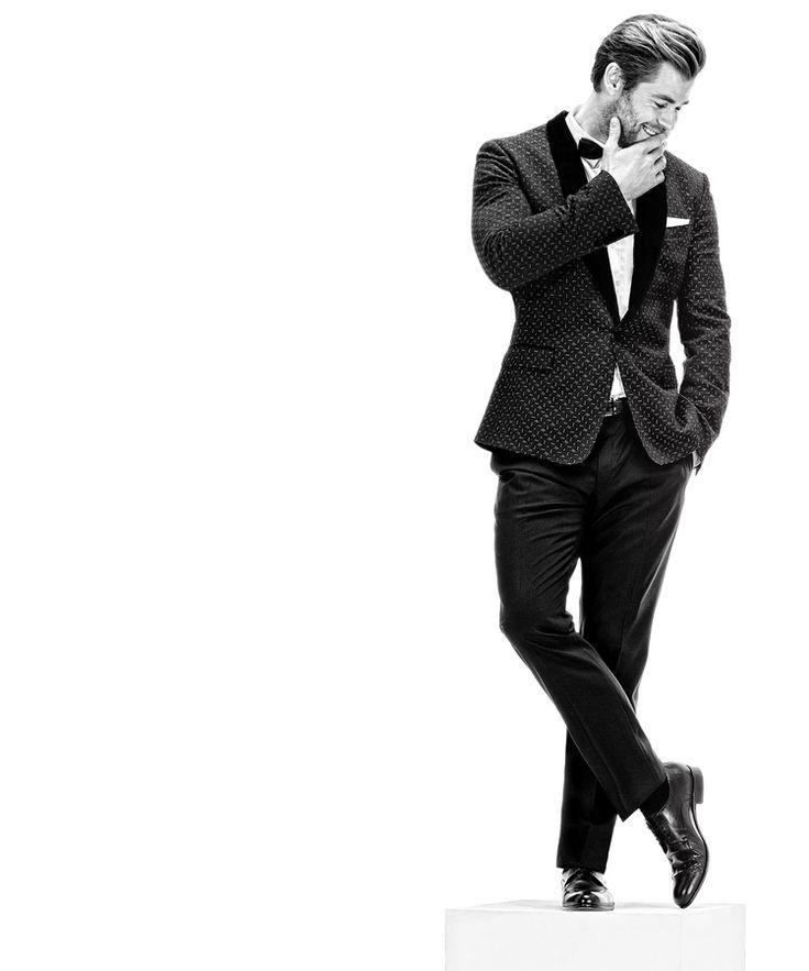 Chris Hemsworth Photoshoot (2014) [x]