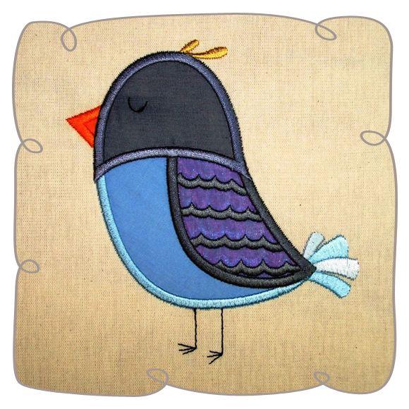 Bird Applique