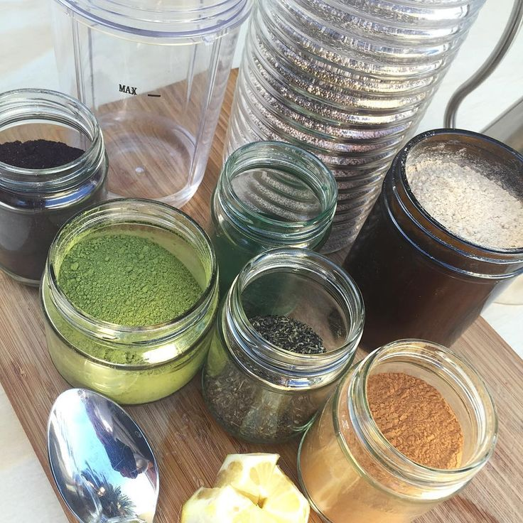 This morning's smoothie: filtered water, chia seeds, maca, spirulina, matcha, maqui, cinnamon, kelp, olive oil, and lemon. The best tip I can give you when trying new foods and recipes is to give your taste buds time to adjust before you judge.  #breakfast #superfoods #smoothie #chiaseeds #maca #spirulkna #matcha #maqui #cinnamon #kelp #lemon #oliveoil #sugarfree #vegan #paleo #raw #mentalhealth #daniellekomarek