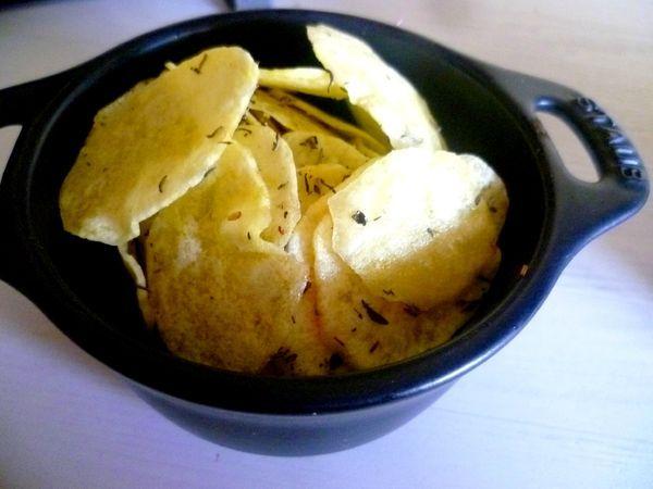 Chips terribeul au micro onde