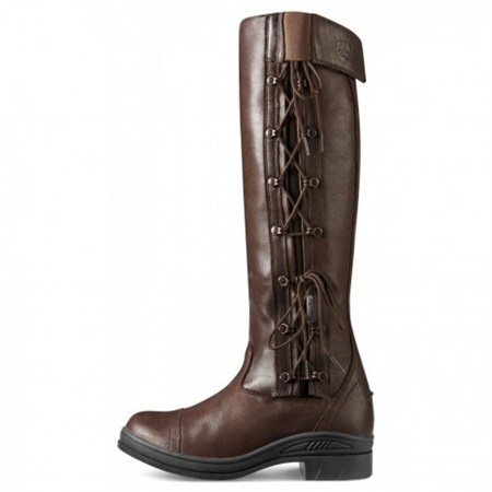 Ariat Glacier Tall Sympatex Laced Boot - Chocolate