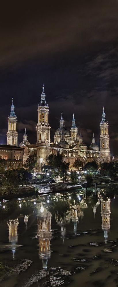 *SPAIN ~ Basilica de amazing architecture design