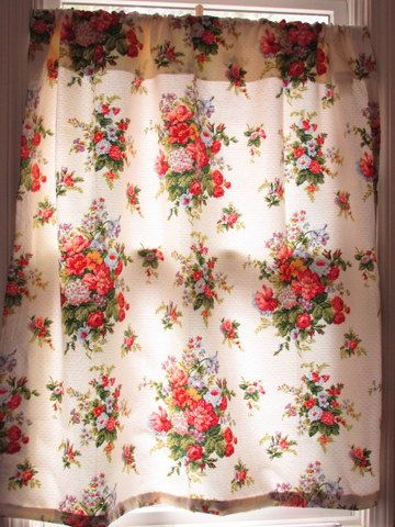 Waverly Curtains 3 windows 7 panels by CapeCodLaurieDesigns, $200.00