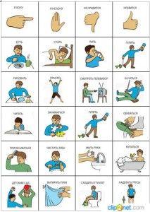 Простые глаголы в картинках для детей | Обучалка