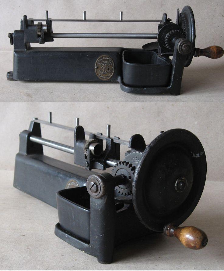 ANTIQUE RARE GERMAN TABLE PENCIL SHARPENER POINTER GUHL & HARBECK JUPITER 1