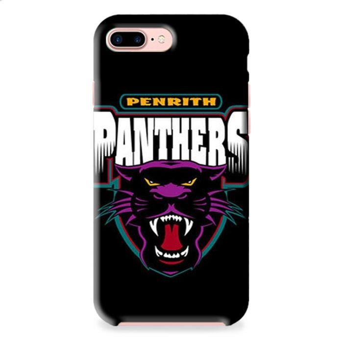 Penrith Panthers Black iPhone 7 3D Case Dewantary