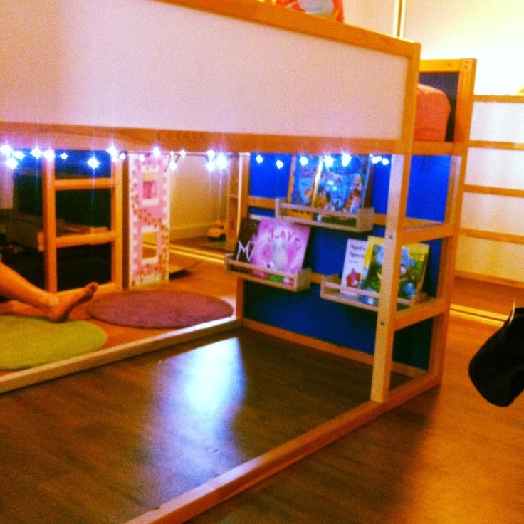 Best My Girls Room Has 2 Ikea Kura Bunks In It We Use The Top 400 x 300
