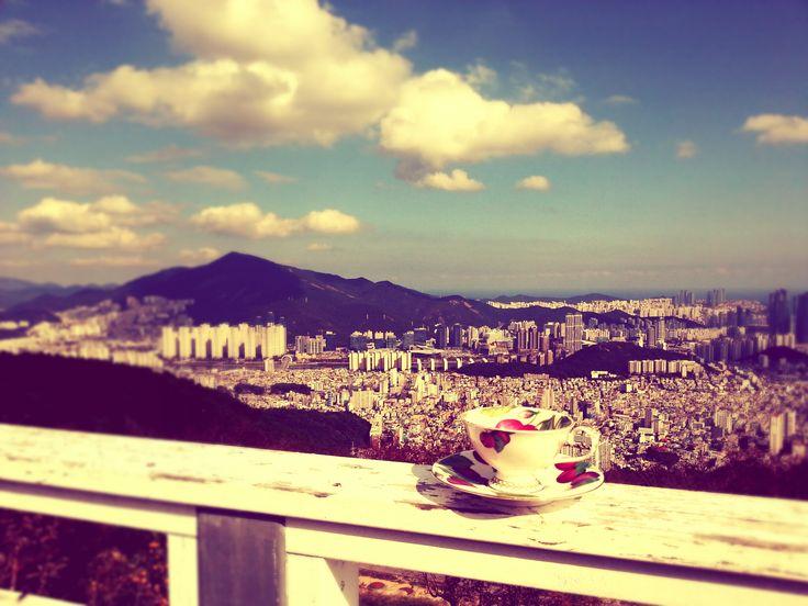 Busan,south korea ,,,,tea